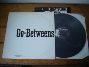 "GO-BETWEENS PROMO SAMPLER 12"" 1987 UK BEGGARS BANQUET NM VINYL + UNUSED POSTER"