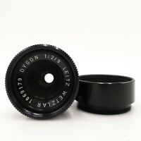 Leitz Wetzlar Dygon 9mm F2 Leicina Teleconverter Lens - Fully Working #LS-2242
