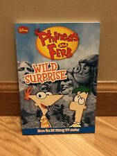 Phineas and Ferb Chapter Book: Wild Surprise 3 by Disney Book Group Staff and...