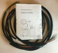 IMPIANTO ELETTRICO ELECTRICAL WIRING MOTO MALANCA 50 cc. BOBINA ESTERNA