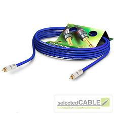 Sommer Cable 4,5m SC-Vector 0.8/3.7 S/PDIF 75 Ω subwooferkabel | vt2i-0450-bl