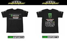 PRO CIRCUIT 2019 MONSTER ENERGY TEAM T-SHIRT CASUAL TEE APPAREL S-XXL MOTOCROSS
