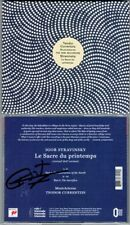 Teodor CURRENTZIS Signed STRAVINSKY Le Sacre du Printemps The Rite of Spring CD