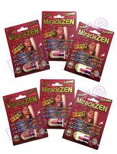 MIRACLEZEN  EXTREME X6 MALE PERFORMANCE ENHANCEMENT LIBIDO MEN STAMINA GROW LOT