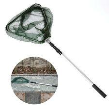 Hot Telescopic 3 Section Extend Handle Fishing Fish Landing Folding Netting Net