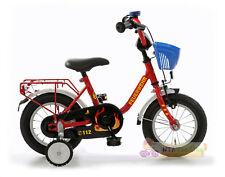 Bachtenkirch Kinderfahrrad 12 Zoll FEUERWEHR mit Fahrradkorb NEU 410-FW-06