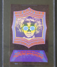 Original 1968 Big Brother and the Holding Company Postcard BG124 Bill Grahm