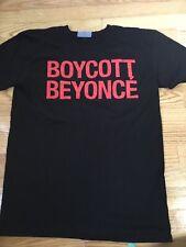 Boycott Beyonce T Shirt Formation Tour 2016 Small Flawless