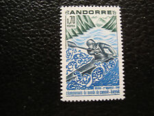 ANDORRE (francais) - timbre yvert et tellier n° 196 n** (A19) stamp andorra (E)