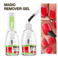 15ml Magic Nail Polish Remover Burst UV LED Gel Soak Off Remover Varnish Cleaner