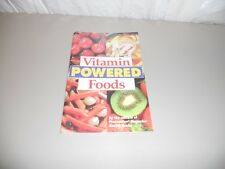Vitamin powered foods pamphlet Prevention Magazine Health books Rodale press