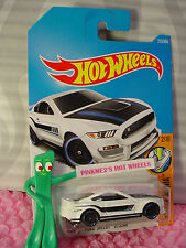 FORD SHELBY GT350R #213✰white;black/blue✰MUSCLE MANIA✰2017 i Hot Wheels case J/K