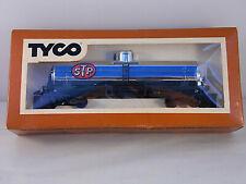 Vintage Tyco Ho Train Silver Single Dome Tank Car STP 367B