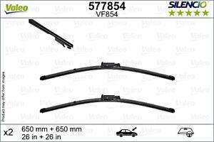 VALEO Wiper Blade Front Kit For SEAT Altea Xl Toledo III 5P0998002A