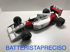 TRUESCALE 1/18 F1 MCLAREN MP4/6 HONDA 1991 SENNA WINNER GP SAN MARINO MARLBORO