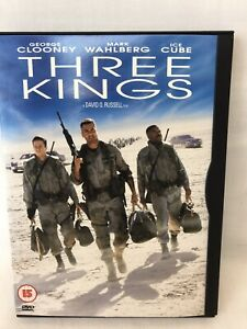 Three Kings (DVD, 2005) George Clooney 15 Free UK P&P