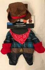 Cowboy Pet Dog or Cat Costume Size XS Extra Small NEW!