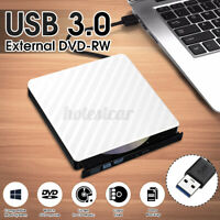USB3.0 External DVD RW CD Writer Drive Burner Reader Player For PC MAC   !