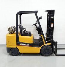 Nice Cat Gc30K 6000 Lb Lpg Forklift 6,000 Caterpillar One Owner!