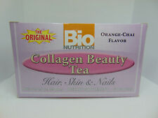 Bio Nutrition Collagen Beauty Tea Orange-Chai (30) tea bags 05/2020 FREE SHIP