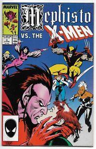 Mephisto VS. THE X-MEN #3 Marvel 1987 Milgrom Buscema VFN