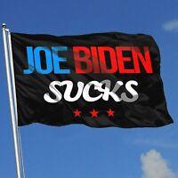 Joe Biden Sucks Flag Not My President Impeach 3x5ft Trump 2024  Banner Flag