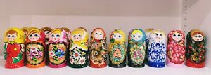 Matroshka, Russische Matroschka, Holzpuppe 16 cm, 5 teilig, Matrjoschka Puppen