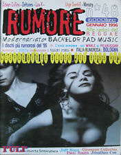 RUMORE 48 1996 Boss Hog Pussy Galore Ministry Stereolab Patti Smith Cardigans