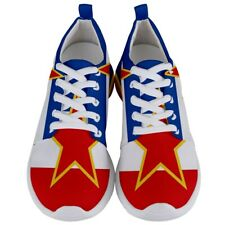New Yugoslavia flag Men's Athletic Sports Shoes Free Shipping