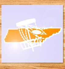 "6"" Tennessee Disc Golf Vinyl Decal"