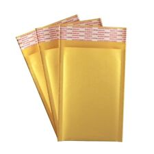 "25 Pack - 4"" x 7"" #000 Kraft Bubble Mailers Self Seal Padded Shipping Envelopes"