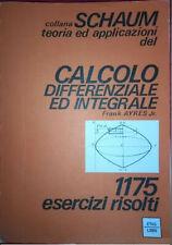 schaum calcolo differenziale ed integrale 1175 esercizi leggi