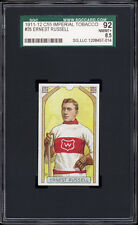 1911 C55 Imperial Tobacco #35 Ernest Russell (HOF, Montreal Wanderers) SGC 92