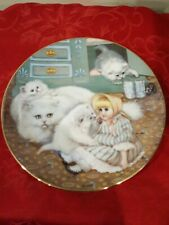 "Captive Audience Hamilton Collector Plate by Gre Gerardi ""Country Kitties"" 1988"