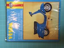 VESPA SCOOTERS 1959 TO 1978 OWNERS WORKSHOP MANUAL