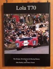 LOLA T70 Design, Development, Racing & Chassis History Book - Starkey  Free Ship