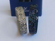 Swarovski Crystal Rock Armband Set Grau und Blau 5089700