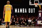 Los Angeles Lakers Kobe Bryant Mamba Out Poster (24x36) inches
