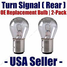 Rear Turn Signal/Blinker Light Bulb 2-pack Fits Listed Chevrolet Vehicles 2057