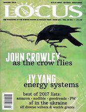 LOCUS Magazine #684 - January 2018 - NEW