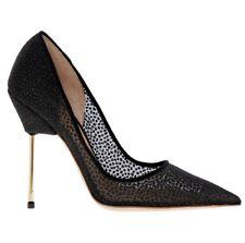 Kurt Geiger London Britton Bond Shoes Size 2 EU 35 Black Mesh High Heels BNIB