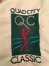 Vtg Quad City Classic Windbreaker Pullover Jacket Now John Deere Classic XL