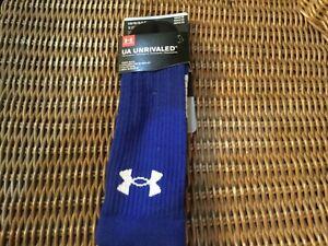 Under Armour Unrivaled Socks********BNWT**********royal blue