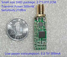 2.4G 500mw Wireless AV Transmitter Module for FPV System VCD/DVD/DVB Audio video