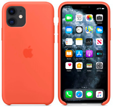 Clementine Orange Apple Echt Original Silikon Schutz Hülle Case iPhone 11 6,1″