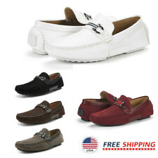 Men's Penny Loafers Lightweight Casual Slip On Moccasins Shoes