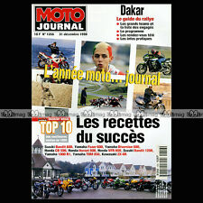 MOTO JOURNAL N°1356 HONDA 600 HORNET CB 500 VFR 800, KAWASAKI ZX-6R, DAKAR 1998
