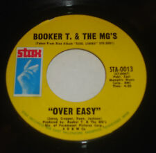 BOOKER T & THE MG'S HANG EM HIGH / OVER EASY 45 STAX MEMPHIS