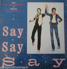 "MICHAEL JACKSON/PAUL McCARTNEY ~ SAY SAY SAY ~ 12"" SINGLE PS"