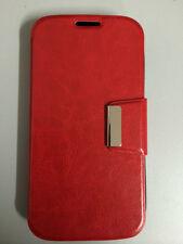 Funda Flip ALCATEL POP C7 tipo libro con cierre COLOR ROJA+PROTECTOR GRATIS